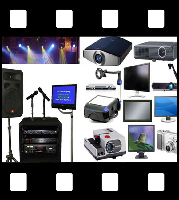 Audio and Video equipment rentals